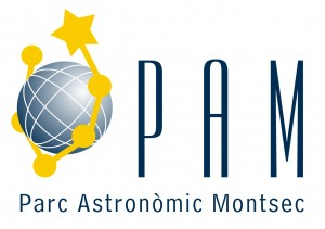 Logotip del Parc Astronòmic del Montsec