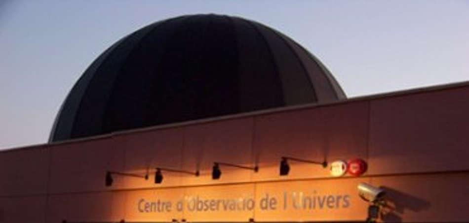 Fotografia de la entrada del parc astronòmic