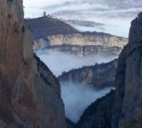 Fotografia del desfiladero de Mont-rebei